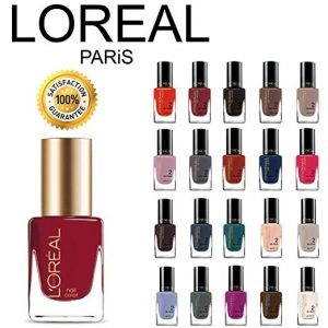L'Oreal Nail Paint Collection