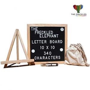 Letters message boared