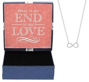 1. Infinity Symbol Necklace Jewelry Box
