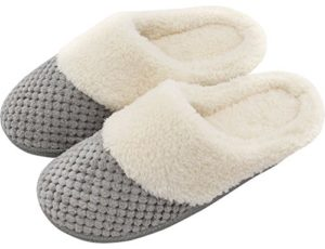 Women Soft Gridding Indoor Slippers