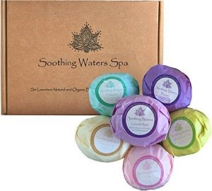 Natural Spa Bath Bomb Gift Set
