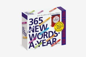 365 New Words a Year Page-a-Day Calendar 2019