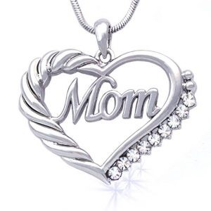 Mom Engraved Necklace