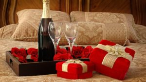 4. Romantic gifts