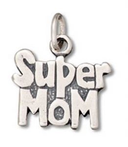 Super Mom Charm Pendant