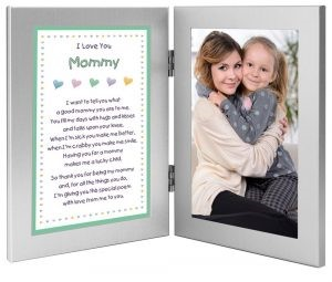 Photograph Frame with Poem