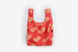 BAGGU Standard Reusable Shopping Bag, Hot Dog