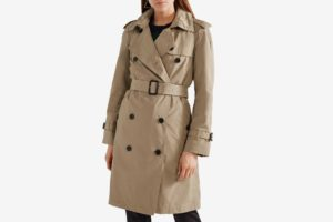 Burberry Amberford Hooded Shell Trench Coat