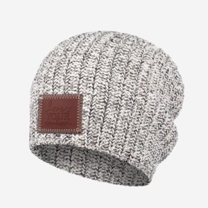 Dark Speckled Beanie