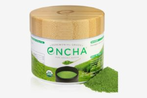 Encha Ceremonial Organic Matcha in Reusable Glass Jar
