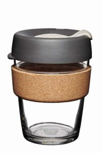 KeepCup Brew Glass Reusable Coffee Cup, 12-Ounce
