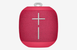 Ultimate Ears WONDERBOOM Super Portable Waterproof Bluetooth Speaker Freestyle Collection — Raspberry